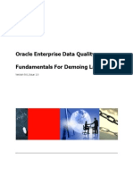 EDQ Fundamentals for Demoing Lab v9.0