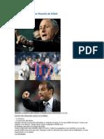 Dos maestros y una filosofía de fútbol