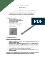 Informe 6 Péndulo Simple UTP