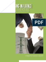 Report on political spending involving Indian Point