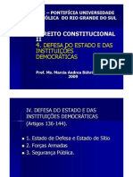 IV Defesa Do Estado-sitio