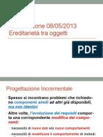 Esercizio 1 - Java - Ereditarietà