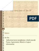 The Structure of IP 2009