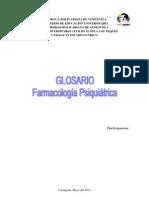 GLOSARIO Farmacos PSiquiatria