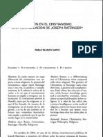Razón y cristianismo Ratzinger (Pablo Blanco)