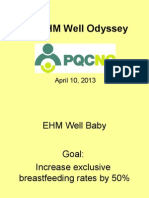 PQCNC EHM Well LS3 What we have accomplished...
