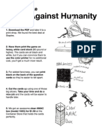 Cartas contra la humanidad