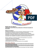 Model Plan de Afaceri Pizza 2
