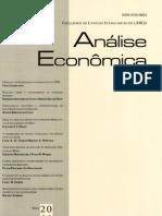 Análise Econômica UFRGS