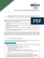 Ficha Resumen Catering Permanente