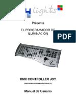 Manual de Usuario Dmx Controller Joy 2