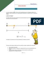 Teoria de Trabajo Mecanico