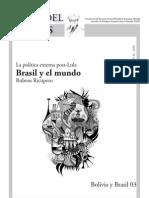 Brasil y El Mundo-rubens Ricupero