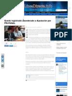 16-05-2013 Queda registrado abanderado a diputación por PRI-PANAL