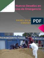 Clase 09. Nuevos Desafios en Medicina de Emergencia y Desastres