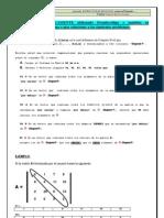 Compendio de Ejercicios de Vectores y Matrices (2013-i)