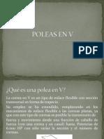 POLEAS EN V