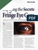 Exposing the Secrets of Fringe Eye Care-Bates Mehtod