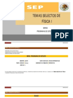 Programa TSF I