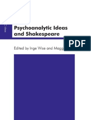 Psychoanalytic Ideas and Shakespeare (The Psychoanalytic Ideas Series)