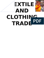 TEXTILE AND CLOTHING TRADE