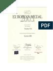 Medal Europejski Koma HR 2004
