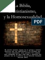 La Biblia, el Cristianismo, y la Homosexualidad