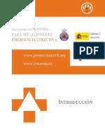 Recomendaciones Para Situaciones de Emergencia Colectiva
