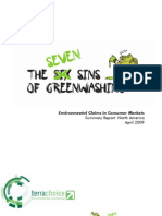 The Seven Sins of Greenwashing