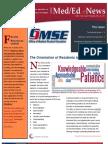 UA OMSE Med/Ed eNews v1 No. 08 (MAY 2013)