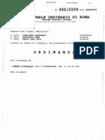 Ordinanza originale dissequestro Genchi