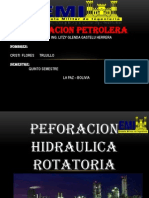 PERFORACION HIDRAULICA ROTATORIA