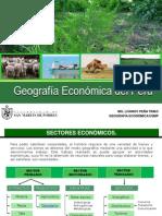 Geografía Económica..