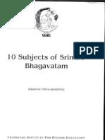 10 Subjects of SB