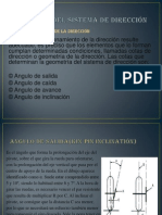 Geometria Del Sistema de Direccion