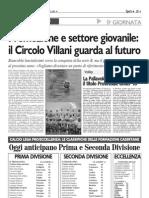 IL CRCOLO VILLANI PENSA AL FUTURO