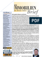 Der Immobilienbrief Nr 189 Vom 09 April 2009