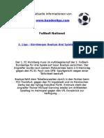 2. Liga - Nürnberger Boakye drei Spiele gesperrt
