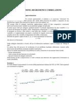 Interpolazione, regressione, correlazione