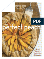 Recipes from The Perfect Peach by Marcy, Nikiko, and David Mas Masumoto,