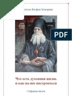 Свт. Феофан Затворник. Что есть духовная жизнь и как на нее настроиться