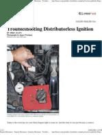 Popular Mechanics - Saturday Mechanic - Troubleshooting Distributorless Ignitions