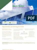 Renewable Energy Industry Review Allliedschools Jul09