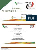 Lengua Adicional Al Espanol i