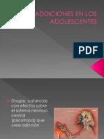 Addiciones en Los Adolescentes