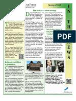 Condominium First Spring 2013 Newsletter