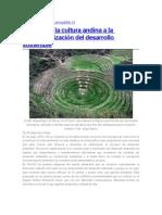 Aportes de la cultura andina a la conceptualización del desarrollo sostenible