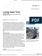 Popular Mechanics - Curing Radio Noise