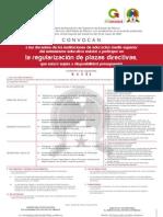 Convocatoria Acuerdo 94