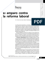 El Amparo Contra La Reforma Laboral